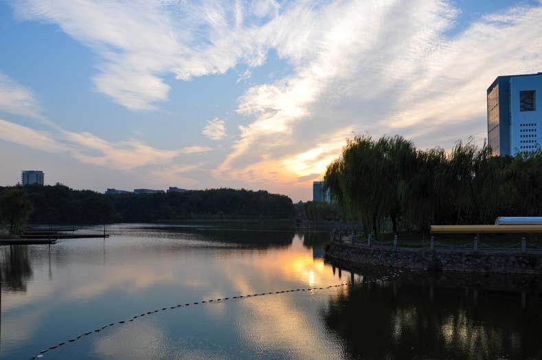 延边大学校园风景